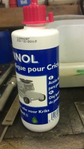 huile hydraulique.