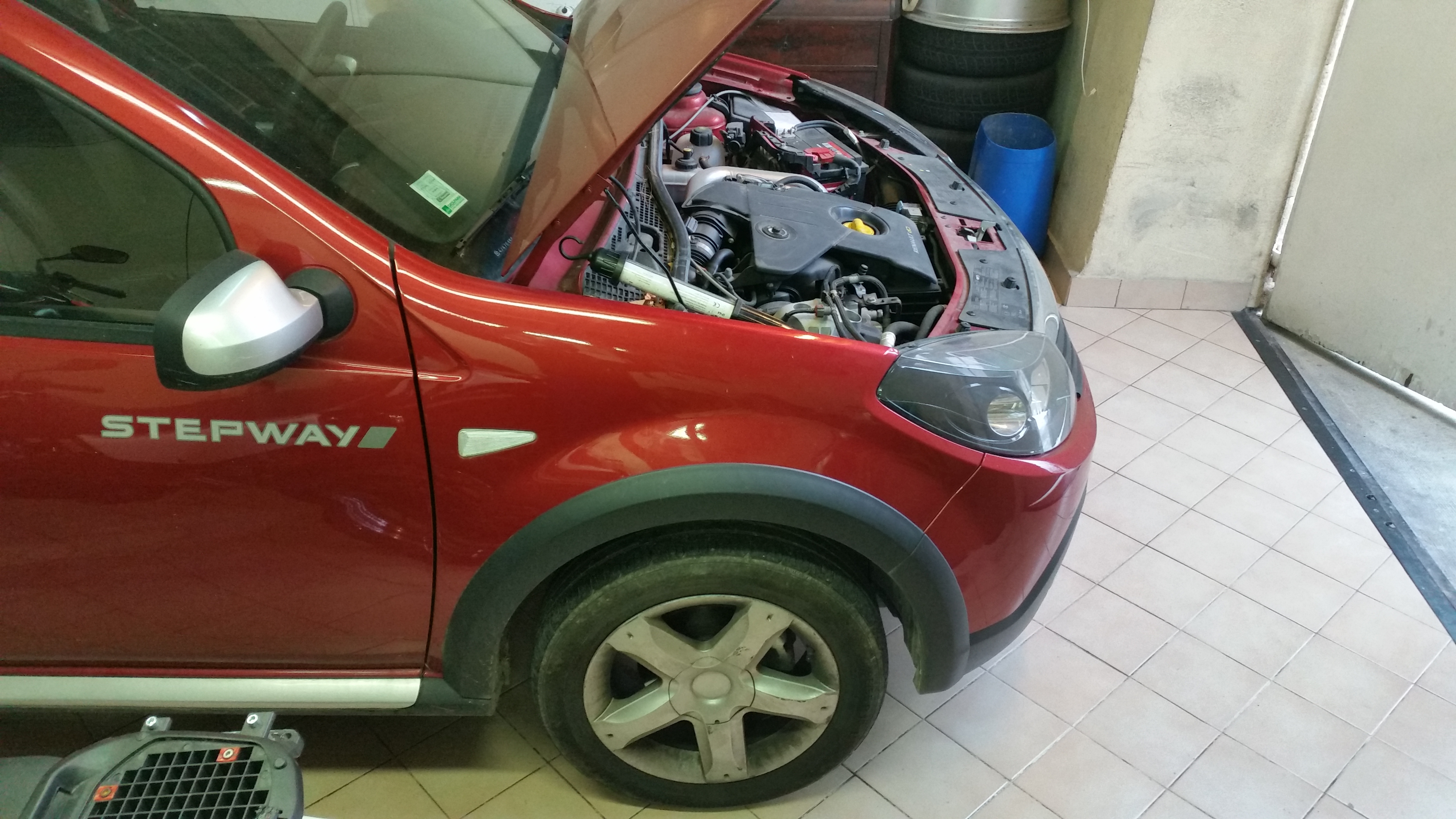 r vision 20000 kms dacia sandero 1 5 dci fap stepway motors dp. Black Bedroom Furniture Sets. Home Design Ideas
